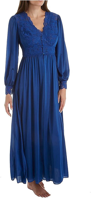 Shadowline Women's Plus Size Silhouette 54 Inch Long Sleeve Coat