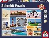 Schmidt Spiele 58221 1000pieza(s) Puzzle - Rompecabezas (Jigsaw Puzzle, Landscape (Scenery), 693 mm, 493 mm, 373 mm, 272 mm)