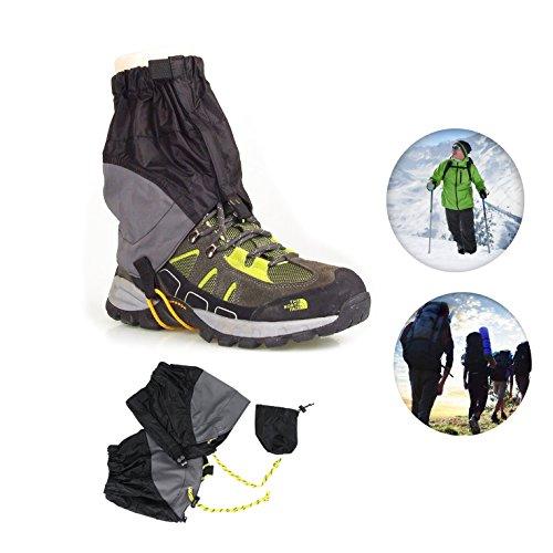 AKEfit Outdoor Waterproof Snow Leg Gaiters Hiking Walking Climbing Hunting Leggings Cover Leg Gaiters