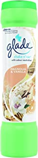 2 x Glade Shake N' Vac - Magnolia & Vanilla - 500g Carpet Freshener with Neutraliser