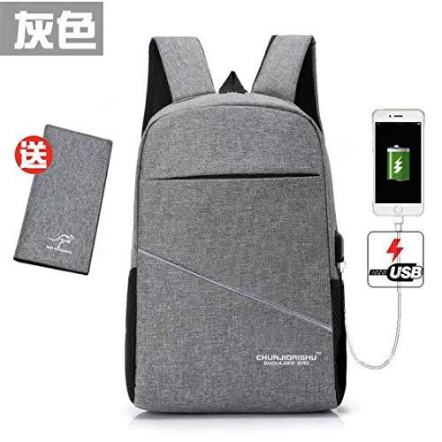 Rucksack Business Rucksack Herrentasche Rucksack Trend Reisetasche Lässige Schultasche Einfache Mode Computertasche Reiserucksack 5