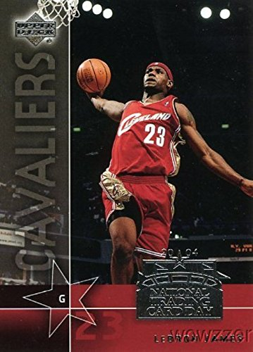 LeBron James 2003/04 Upper Deck #UD-7 National Trading Card Day Promo Rookie in MINT Condition! NBA and Olympic World Champion!Shipped in Ultra Pro Jared Goff 2016 Leaf Draft All Americ to Protect it!