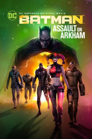 Batman: Assault on Arkham - U.S Movie Wall Poster Print - 43cm x 61cm / 17 Inches x 24 Inches A2