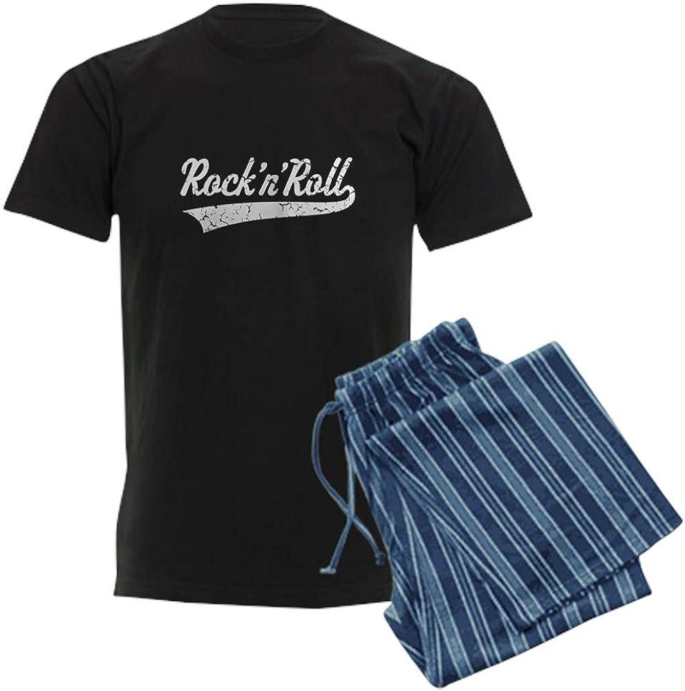 CafePress Rock 'N' Max outlet 87% OFF Roll Pajama White Vintage Set