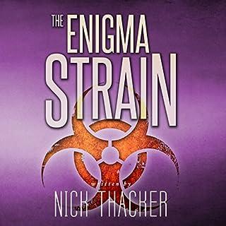 The Enigma Strain audiobook cover art