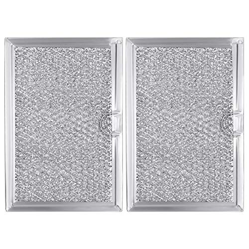 Beaquicy 5304464105 Microwave Grease Filter Screen - Replacement for Frigidaire Microwave Oven - 2 Pack