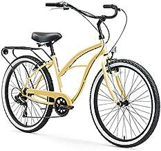 sixthreezero Around The Block Women's 7-Speed Beach Cruiser Bicycle, 26