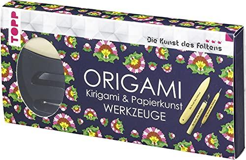 Origami, Kirigami & Papierkunst Werkzeuge (Die Kunst des Faltens): Die wichtigsten Werkzeuge zum Arbeiten mit Papier in einer Geschenkverpackung