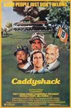 Buyartforless Caddyshack 1980 36x24 Movie Art Print Poster Comedy Classic Chevy Chase Rodney Dangerfield Ted Knight Michael O'Keefe Bill Murray