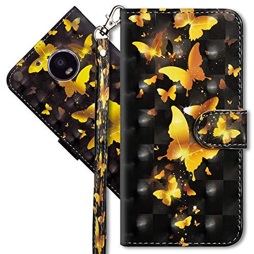 MRSTER Compatibile con Moto G5 Custodia, Creativo 3D Design [Funzione Stand] [Magnetica] [Slot Carte] Flip Pelle PU Cover Protettiva Caso per Motorola Moto G5. YX 3D 4