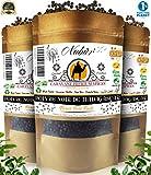 Poivre Noir de Madagascar 500 Gr  NABÜR  Fumé, Riche, Parfums Puissants  Cueillis à La Main  Sachet Refermable (500)