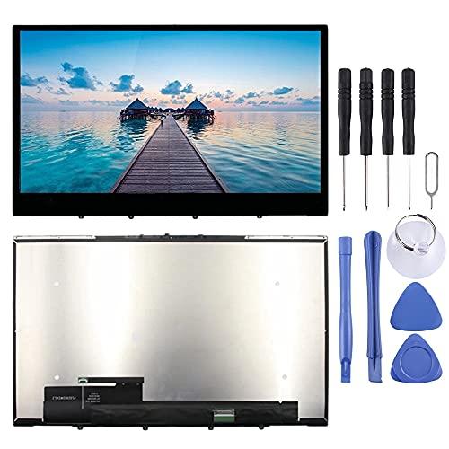LIUDSBFQINGR Smart Phone Touch LCD-Anzeige 1920 x 1080 FHD LCD-Bildschirm und Digitizer Vollmontage mit Rahmen für Lenovo Yoga C740-15 C740-15Iml 5D10S39585