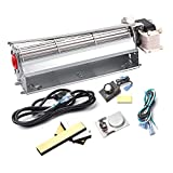 Replacement Fireplace Blower Kit for Heatilator, Majestic, Lennox, Temco Fireplaces, GFK4B...