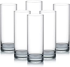 OCEAN New York Hi Ball Glass, Pack of 6, Clear, 340 ml, B07812