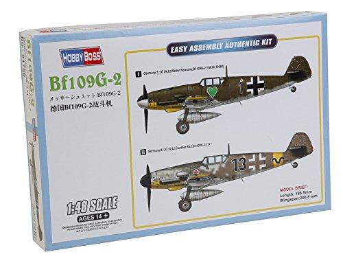 Hobby Boss 081750 – Modèle Kit, en Plastique 1/48 Bf109G 2