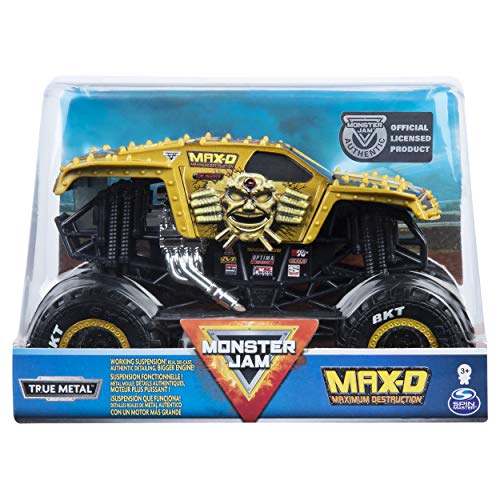 Monster Jam MNJ VHC 1to24 Die Cast MAX D C2 UPCX GML, 6054812, Multicolor