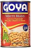 Goya Alubias Blancas Guisadas, 425 g, Pack de 12