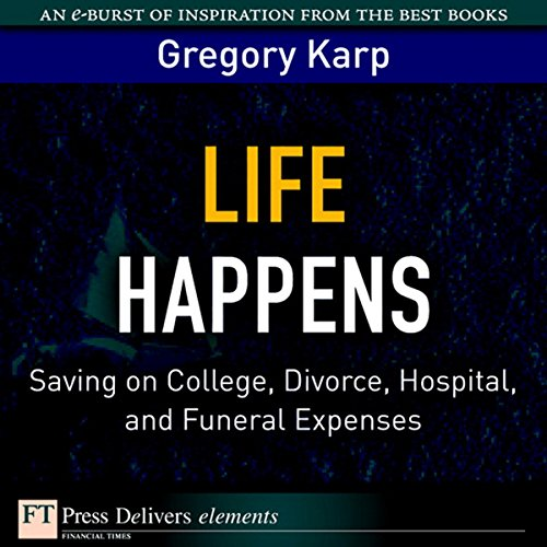 Life Happens audiobook cover art