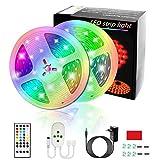 10M Tiras LED Musical 5050 RGB Luces Led Habitacion Tiras de Luces LED Iluminación con 300 LED 16...