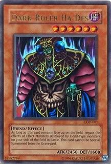 Yu-Gi-Oh! - Dark Ruler Ha Des (LOD-001) - Legacy of Darkness - 1st Edition - Ultra Rare