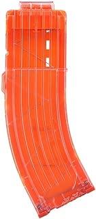 Worker Banana 15-darts Quick Reload Clip for Nerf N-strike Elite Color Orange and Clear