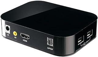 イーサプライ メディアプレーヤー HDMI接続 SDカード USBメモリ 写真 動画 テレビで再生 パソコン不要 EEA-MEDI001