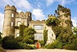Dublin, Ireland - Medieval Irish Castle with Round Towers 9035734 (9x12 Art Print, Wall Decor Travel Poster) Standard 9x12 print, ready for framing Printed in the USA on heavy stock paper using a high-end digital printing press Perfect for your home,...