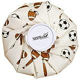Bolsa de hielo - Tapón de rosca - Marca Neotech Care - Diseño (fútbol, 28cm)