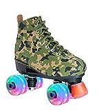 ZGRNB Unisex Deform Wheel Skates Zapatillas de Ruedas Casual Deformation Zapatillas 2 en 1 Parkour Shoes Patines Deportes al Aire Libre Patinaje Viajar La Mejor opción 34-45