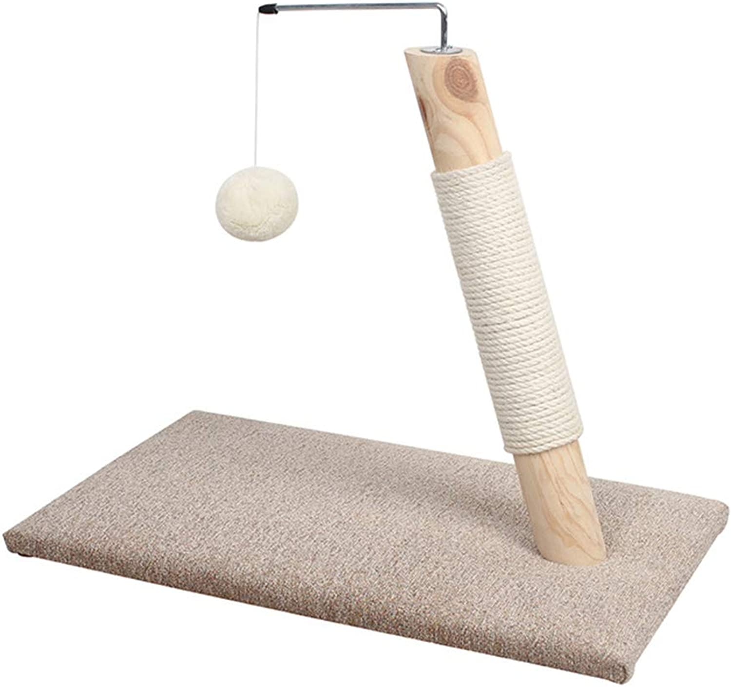Cat Climbing Frame, Solid Wood Sisal Cat Claw, Cat Bed, Cat Scratch Board, Cat Jumping Platform, Pet Toy