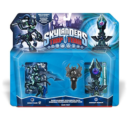Skylanders: Trap Team - Elemental Pack (Knight Mare - Dark, Midnight Museum, Spider-Dark)