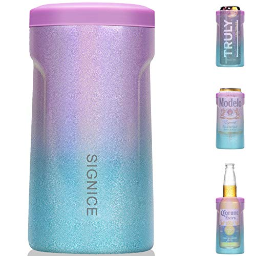3-IN-1 Insulated Can Cooler - [2021 NEWEST] Signice Double Walled Vacuum Insulator Stainless Steel...