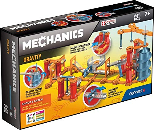 Geomag- Mechanics Gravity Shoot & Catch Sistema di...