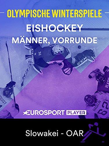 Eishockey: Männer, Vorrunde - Slowakei - Olympic Athlete from Russia