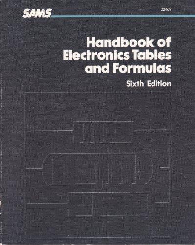 Handbook of Electronics Tables and Formulas