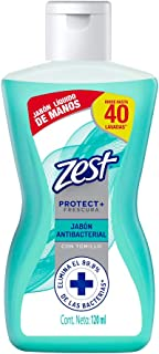 ZEST Jabón Liquido Para Manos Antibacterial, 120 ml