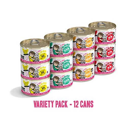Weruva Best Feline Friend Variety Pack - 12 x 3 oz