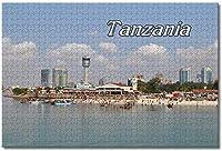 BEI YU MAN.co タンザニアダルエスサラーム大人のためのジグソーパズル子供1000ピースギフトのための木製パズルゲーム家の装飾特別な旅行のお土産