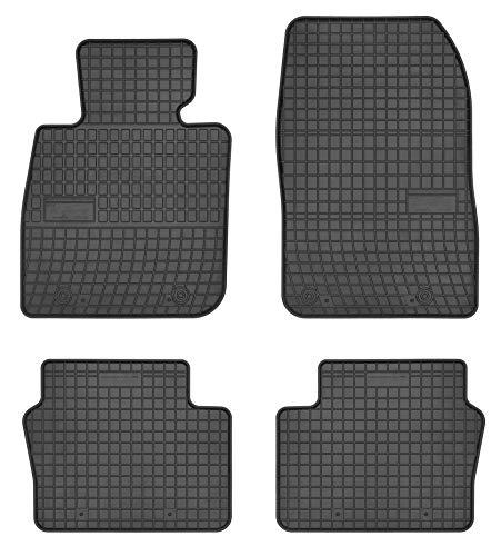 TN Profimatten - Alfombrillas para Mazda CX-3año de fabricación 2015,de goma de gran calidad, ajustables