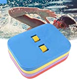 Mixen Multi Swimming Back Float, Safety Swim Bubble with Adjustable 3 Layers Swim Belts Comfortable Waterproof Floaties Device for Kids Toddler Swimming Floats
