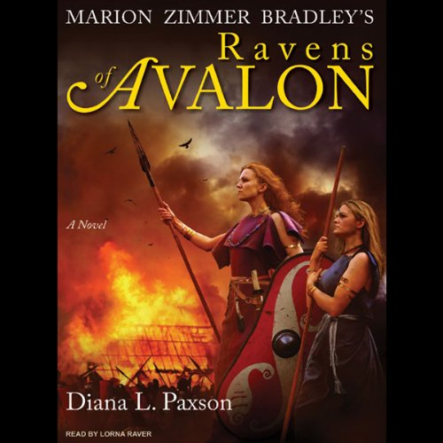 Marion Zimmer Bradley's Ravens of Avalon audiobook cover art