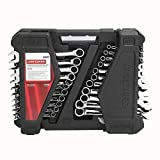 CRAFTSMAN 52 WRENCH SET COMBINATION METRIC AND SAE