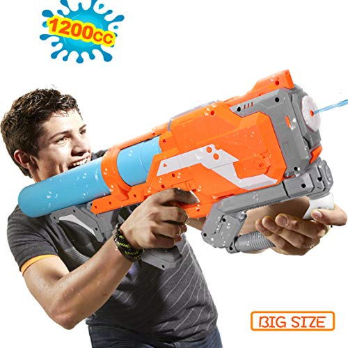 Water Gun for Adults Teenagers,10 Years Kids Squirt Guns Water Guns for Adults Large Capacity Water Blaster Squirt Gun, 39ft Long Range Summer Outdoor Water Fighting Toy for Swimming Pool Party