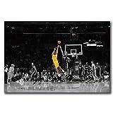 NRRTBWDHL Poster und Kunstdrucke Kobe Bryant Basketball