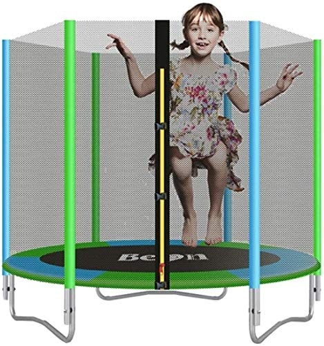 LAMTON 6FT Kids Trampoline Outdoor for Adult Kids, Equipped with Thicken Safety Net/Thicken Steel Pipe, Fun Toys for Fitness,Best Gifts