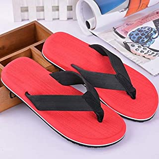 Summer Men Athletic Supportive Flip Flop Beach Thong Sandals Anti-slip Lifgtweight Casual Shoes (Color : 02, Shoe Size : 47)