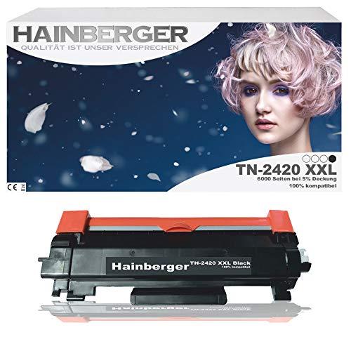 Hainberger Toner TN-2420 XXL mit Chip 6000 Seiten DCP-L2510D DCP-L2530DW HL-L2310D HL-L2350DW HL-L2370DN HL-L2375DW MFC-L2710DN MFC-L2710DW