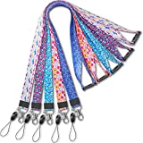 YOUOWO Cruise Lanyard for Keys Men id Badges Holder Lanyards for Women Ship Card Breakaway Safety Quick Release Office Neck Lanyards Wide 2cm 5 Pack
