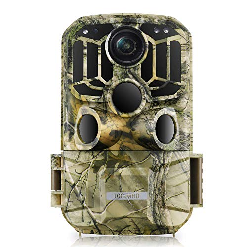 TOGUARD WiFi Trail Camera 20MP 1296P Game Camera Motion Activated Night Infrared Vision Waterproof Outdoor Scouting Wildlife Hunting Camera