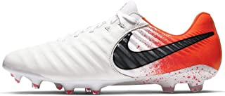 Men's Legend 7 Elite FG Soccer Cleat (White, Black, Hyper Crimson)